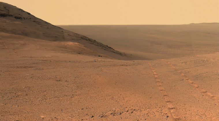 Courtesy of two American visitors to Mars, a few snapshots worth sharing