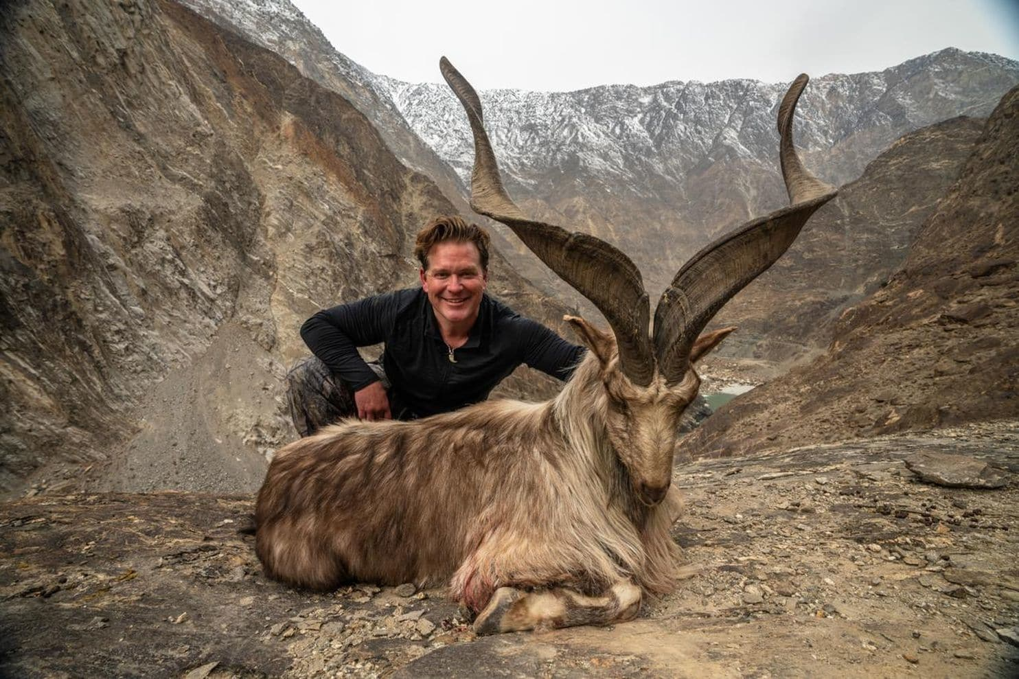 American Trophy Hunter Paid $110K To Hunt Endangered Goat In Pakistan