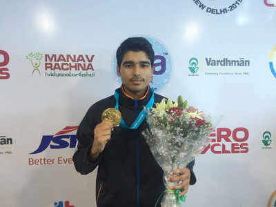 Shooting World Cup: Saurabh Chaudhary breaks World Record to win 10m air pistol gold, secures Olympic quota