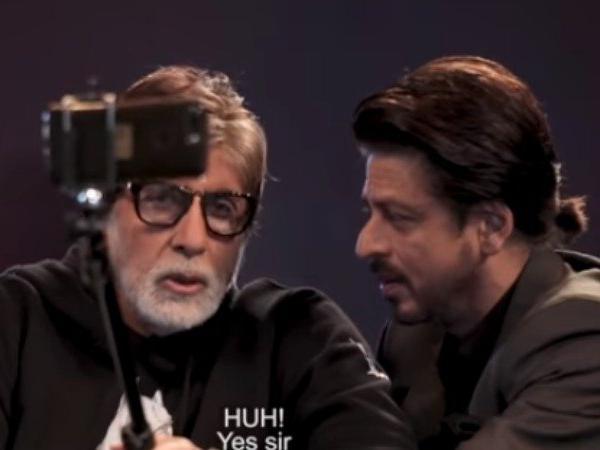 Baap of all videos! Shah Rukh Khan and Amitabh Bachchan take