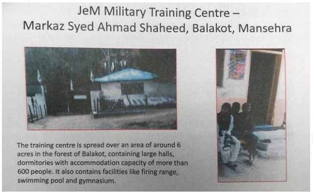 Photos Of Jaish-e-Mohammed Camp Show Hall Where Terrorists Trained, Ammo Storage