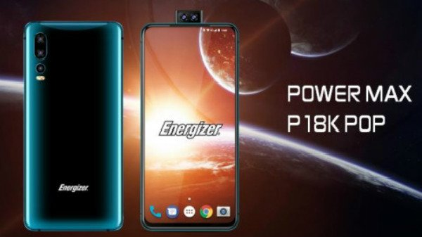 Meet Energizer Power Max P18K Pop, phone with 18,000mAh battery