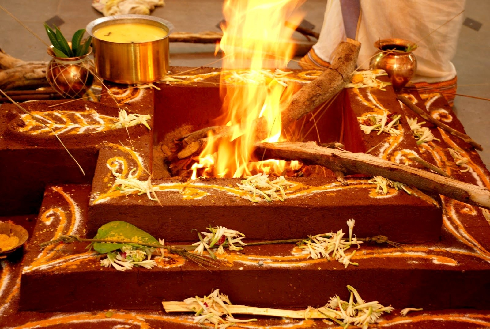 Impact of Yagya on Atmospheric Pollution