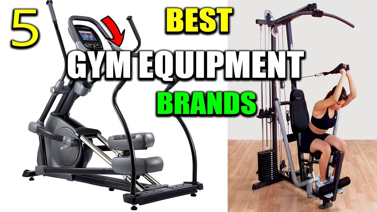 Best 5 Gym Equipment Brands in India 2019