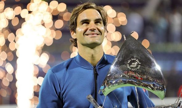 Roger Federer praised by tennis stars after 100th title… but where are Nadal and Djokovic?