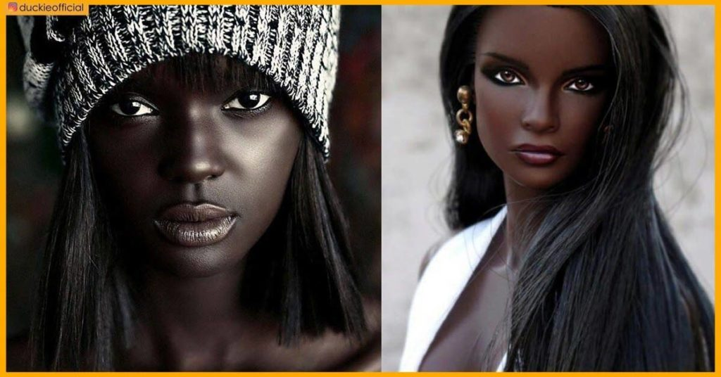 Meet The Gorgeous Australian-Sudanese Model That Looks Like A Real-Life Barbie