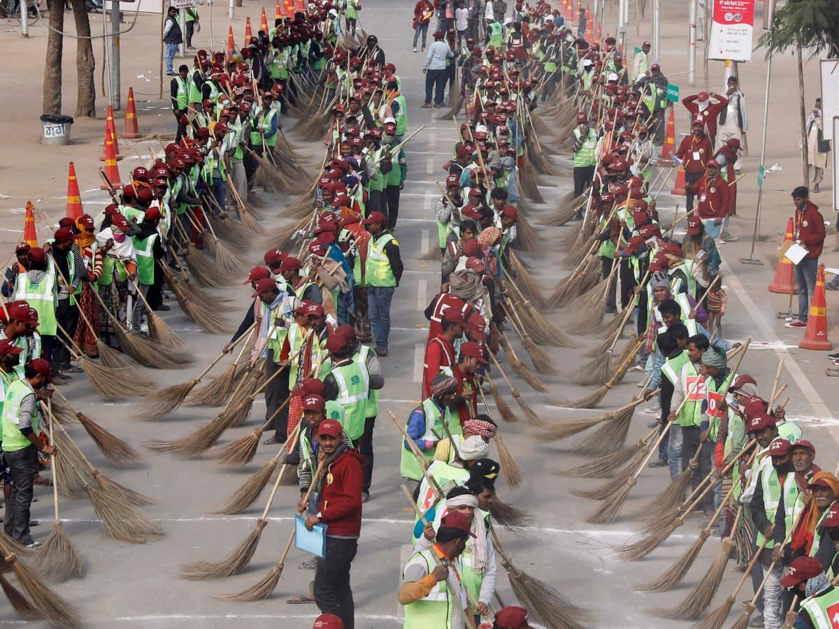 Kumbh Mela authority sets Guinness World Record by undertaking massive sanitation work