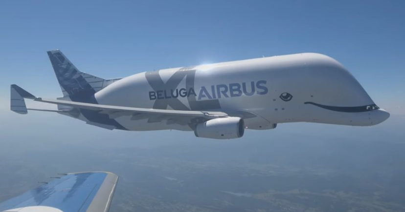 New Beluga Airplane Is The Cutest Plane Ever