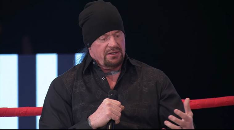 WATCH: The Undertaker cries in an interview, addresses his WWE future