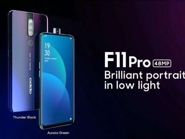 Xiaomi Redmi Note 7 Pro vs Oppo F11 Pro: Price in India, specifications, and features compared
