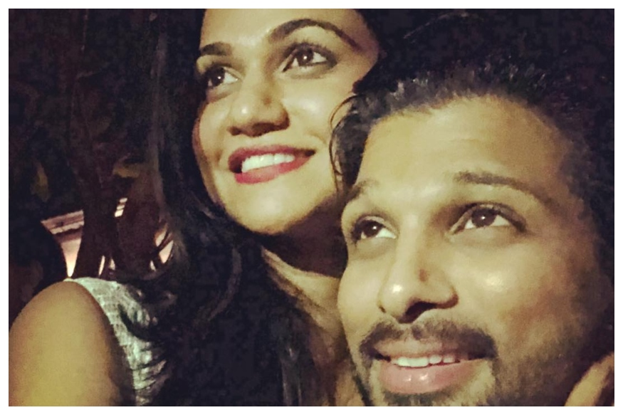 Telegu Star Allu Arjun Posts An Adorable Throwback Picture On Marriage Anniversary, See Here
