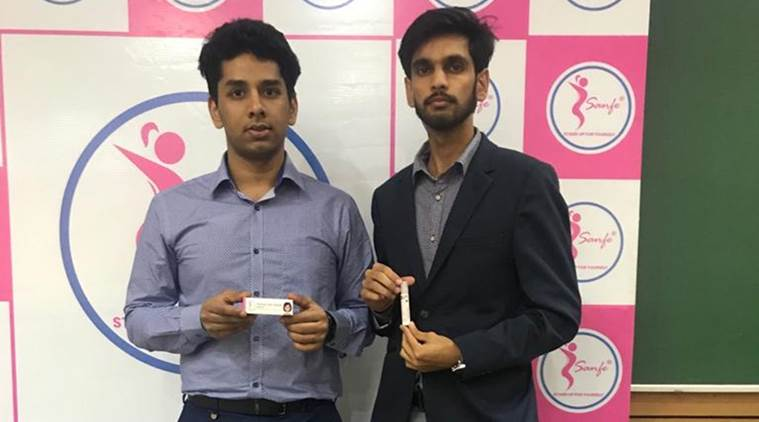 IIT-Delhi boys launch roll on for period pain relief on Women's Day