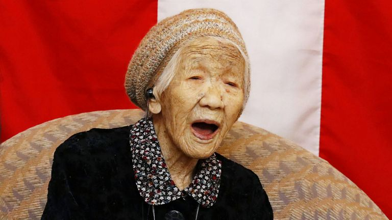 116-Year-Old Japanese Woman Named World