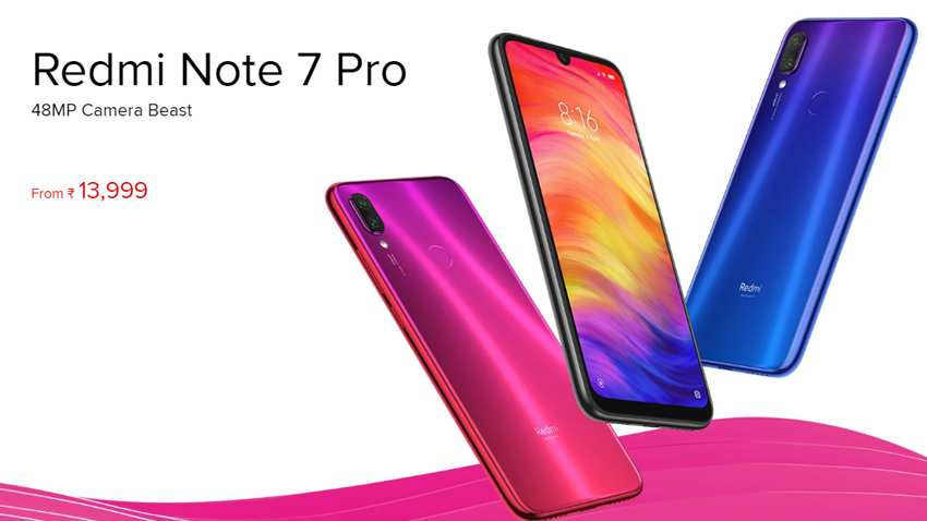 Redmi Note 7 Pro launched in India with 48MP camera, 128GB storage: Check price, specs and availability