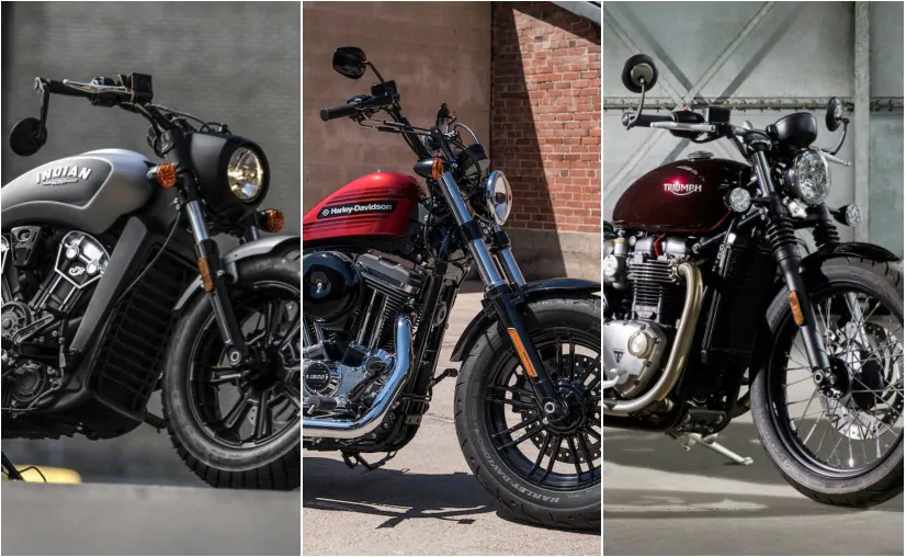 Harley-Davidson Forty-Eight Special vs Indian Scout Bobber vs Triumph Bonneville Bobber: Spec Comparison