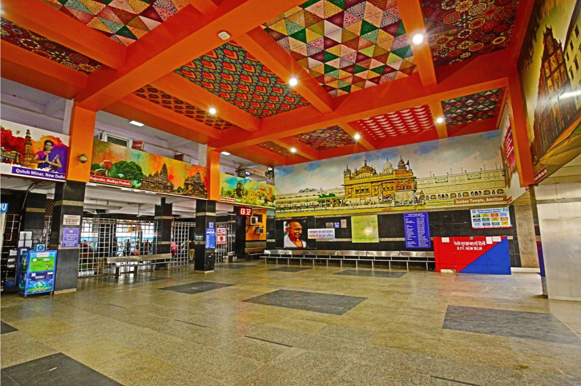 New Delhi railway station gets world class makeover! See pics