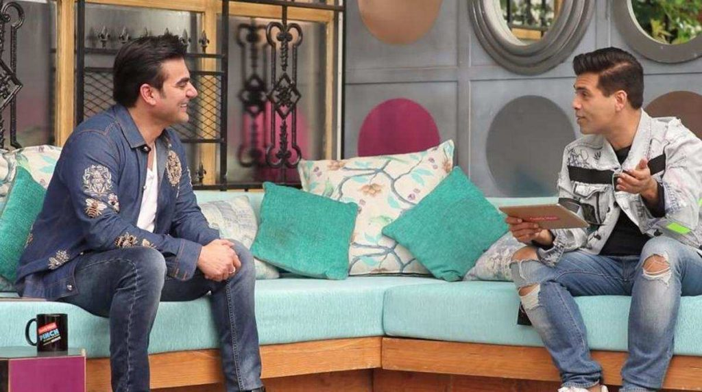 Karan Johar asked if he suffers from 'gender malfunction' on Arbaaz Khan's show. Here's his reply