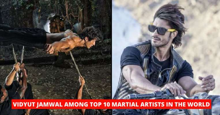 Vidyut Jamwal Ranked Sixth In The Top 10 Martial Artists Of The World - Only Indian On The List