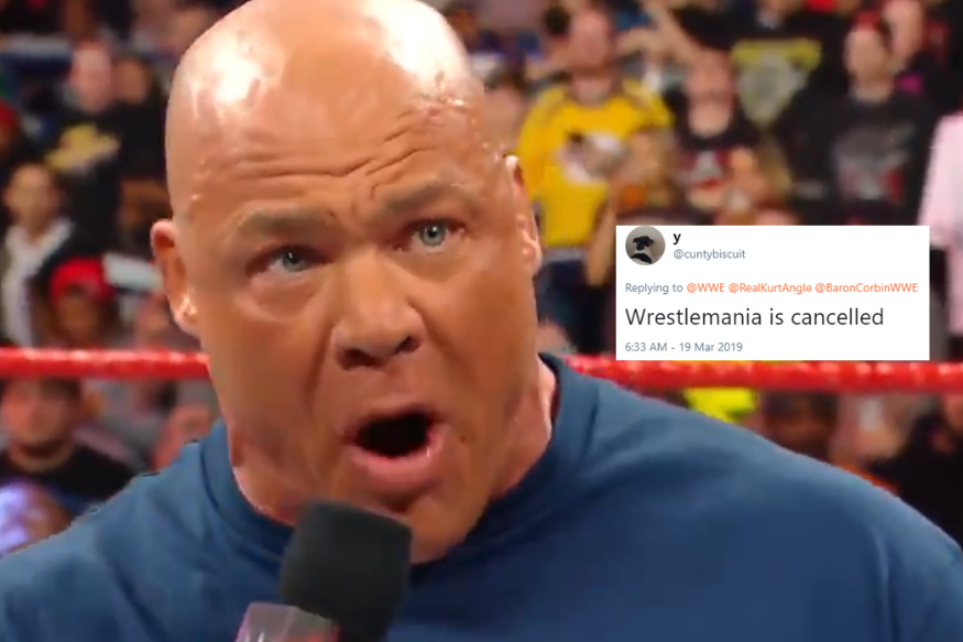Kurt Angle Will Fight this Wrestler in His Farewell Match at WWE WrestleMania