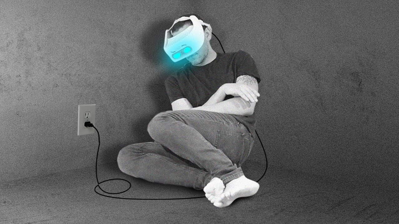 Man Spent 1 Week In A VR Headset Here's What Happened