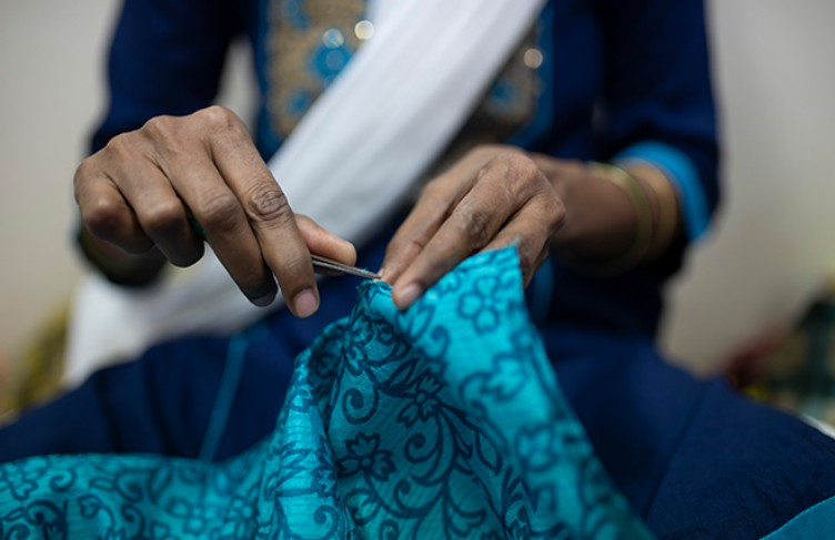 Giving Old Indian Saris A New Life, 'I Was A Sari' Is Helping Underprivileged Women Design Their Future
