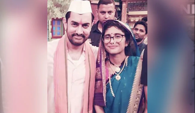 Aamir Khan Instagrams Pic With Wife Kiran Rao,