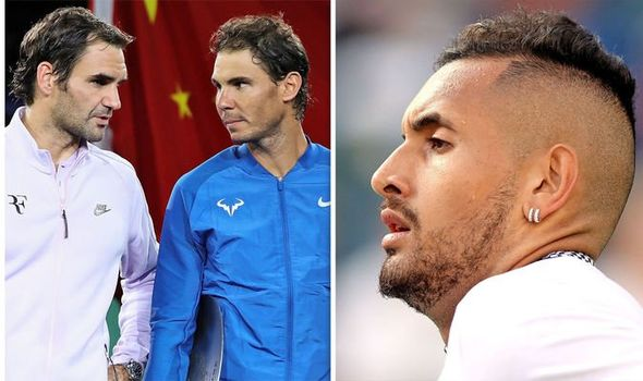 Nick Kyrgios does not give Roger Federer, Novak Djokovic or Nadal 'an INCH' of respect