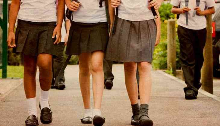 """No Short Skirts"": Maharashtra College"