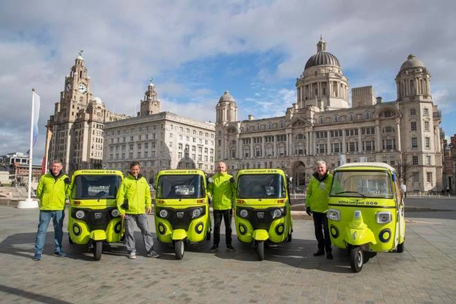 Bajaj autorickshaws in UK! Ola UK launches Bajaj, Piaggio tuk-tuks