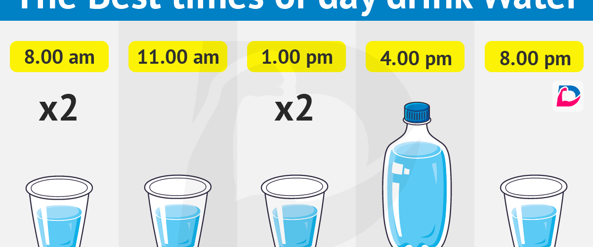 What Is The Most Proper Time Of The Day To Drink Water?