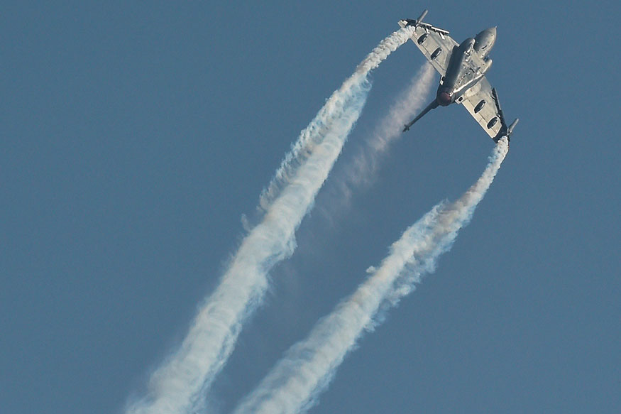 IAF Demonstrates HAL Tejas LCA Fighter Jet