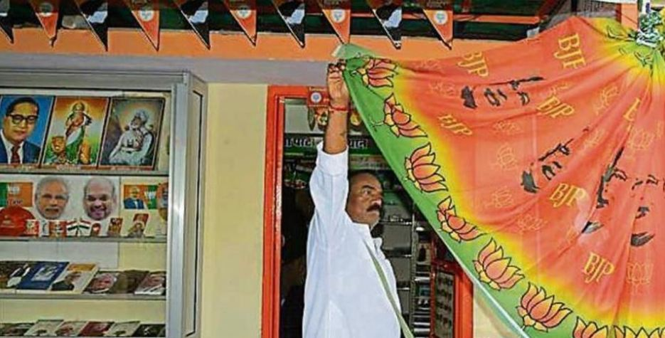 PM Modi inspired sarees a big hit this election season