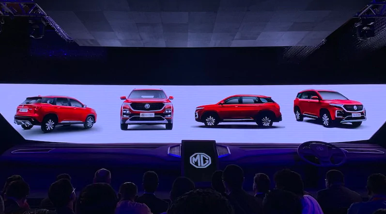 MG Motor Showcases Smart Features of Hector, Its Internet-Connected Car That's Coming to India This June