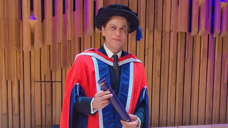 Meet Dr Shah Rukh Khan. King of Romance gets honorary doctorate from University of Law in London