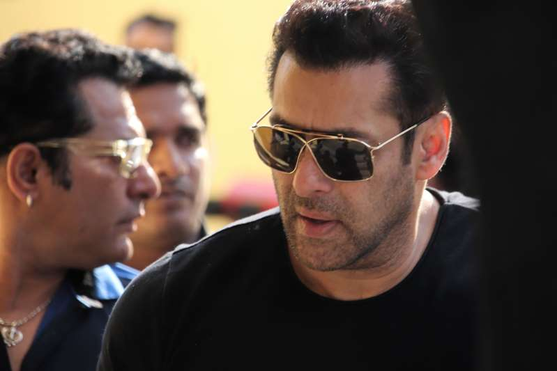 BJP accuses Salman Khan, Congress of hurting religious sentiments