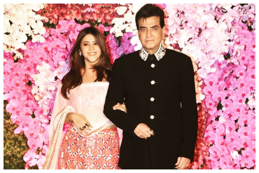 Jeetendra Dances to Jawani Jaaneman With Wife at 77th Birthday Bash, Ekta Kapoor Shares Video