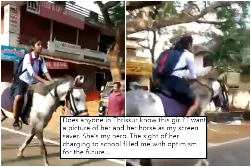 Kerala Girl Gallops to Class 10 Exams on Horseback, Anand Mahindra Says She