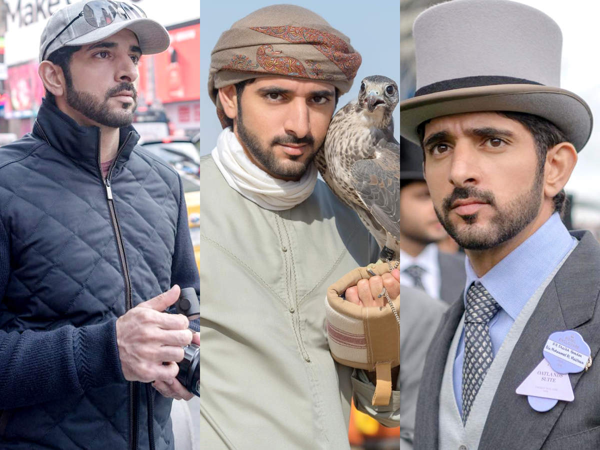 The Prince of Dubai is so stylish you