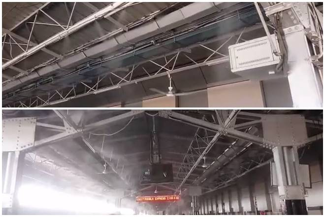 Don't worry about summer heat on Indian Railways platforms! This new mist cooling system is uber cool