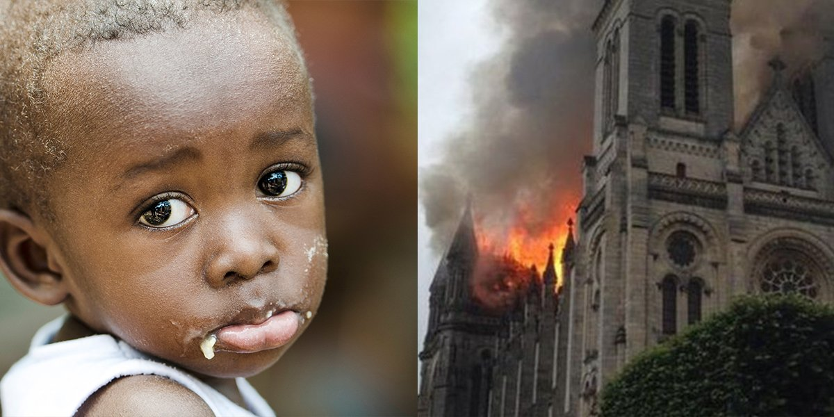 Billion Dollars Has Been Raised For Notre Dame Cathedral But We Can't Fix The Planet