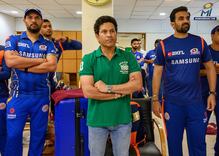 Received no monetary benefit from Mumbai Indians: Sachin Tendulkar
