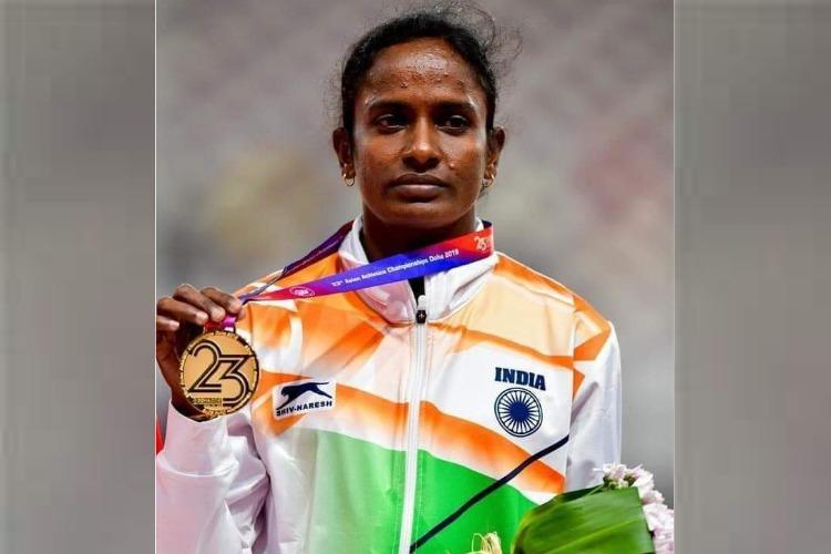 My father ate food kept for cattle so I can train: Gomathi Marimuthu's emotional presser