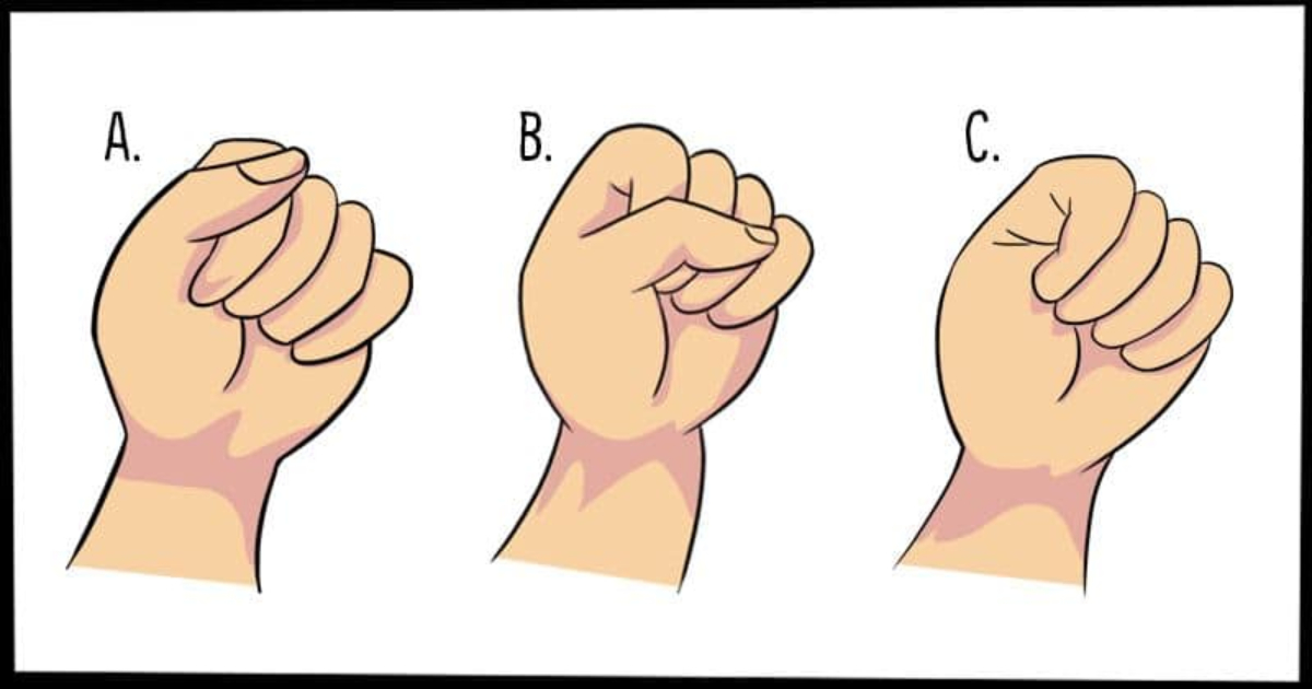 The Way You Make a Fist May Reveal a Lot about Your Personality!