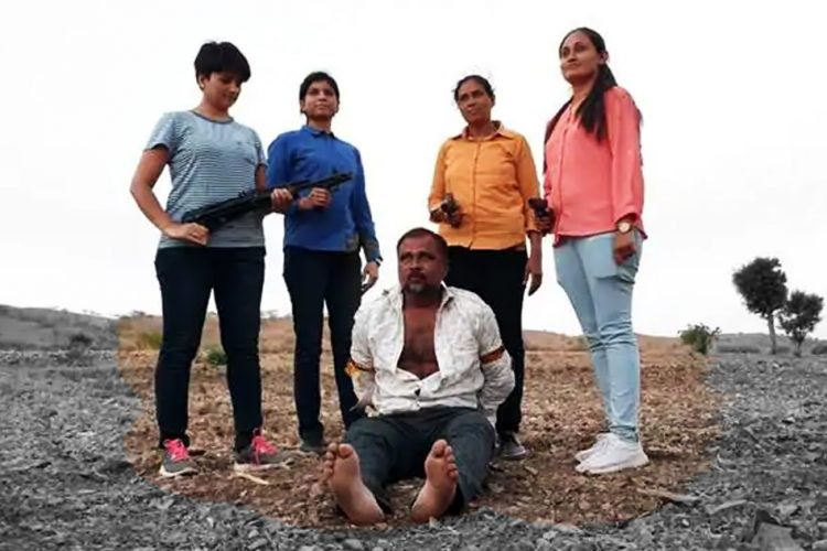 All-women team of Gujarat ATS nab dreaded gangster in jungle