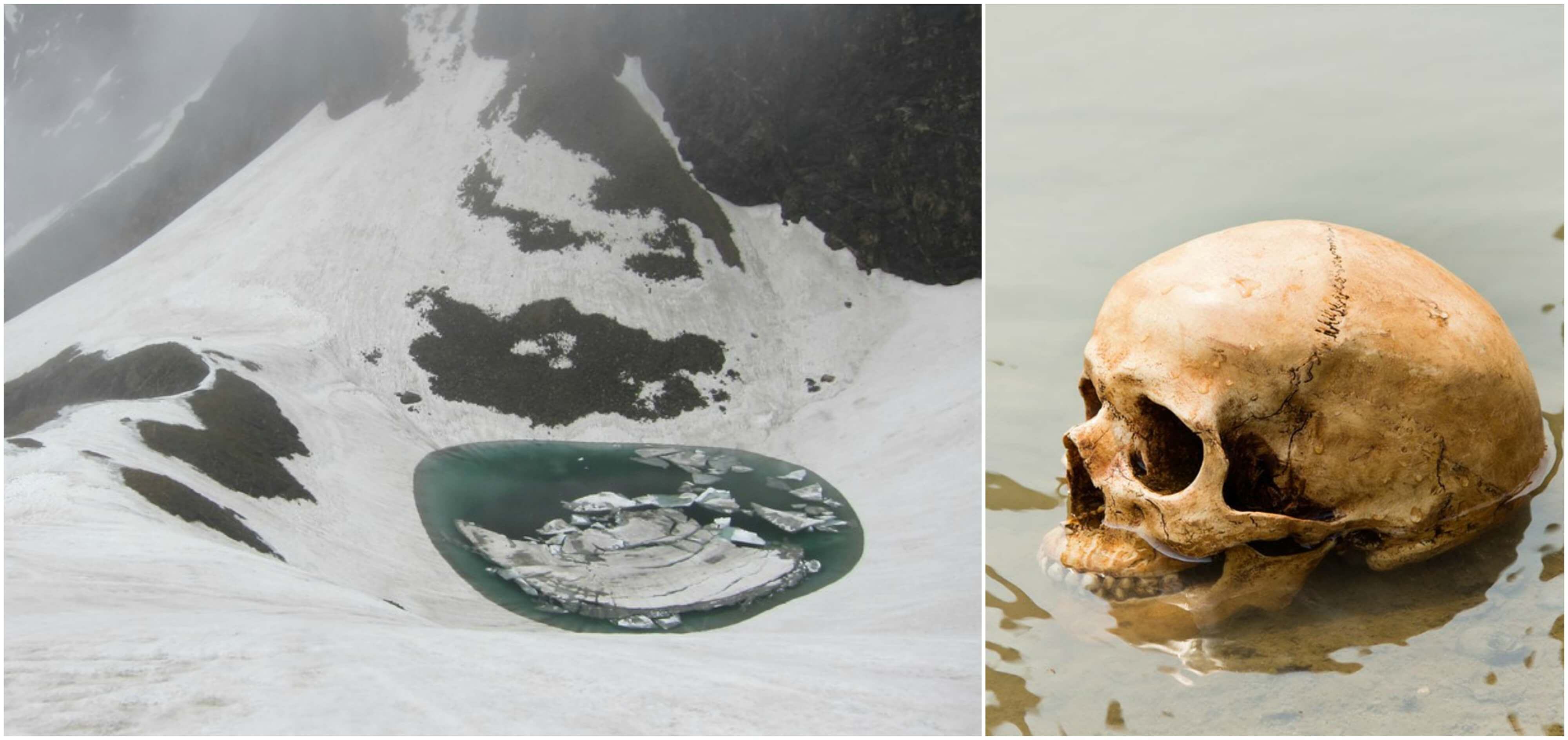 Roopkund lake, The lake of skeletons…….