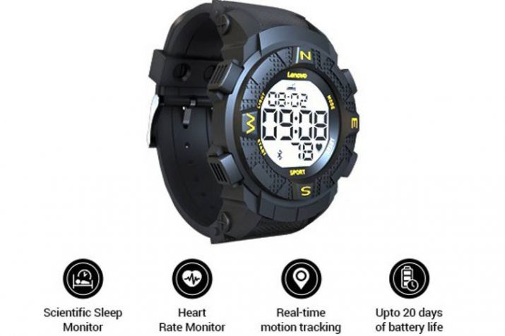 Lenovo Ego Digital Smartwatch With Heart Rate Sensor, Fitness Tracking Features Launched in India