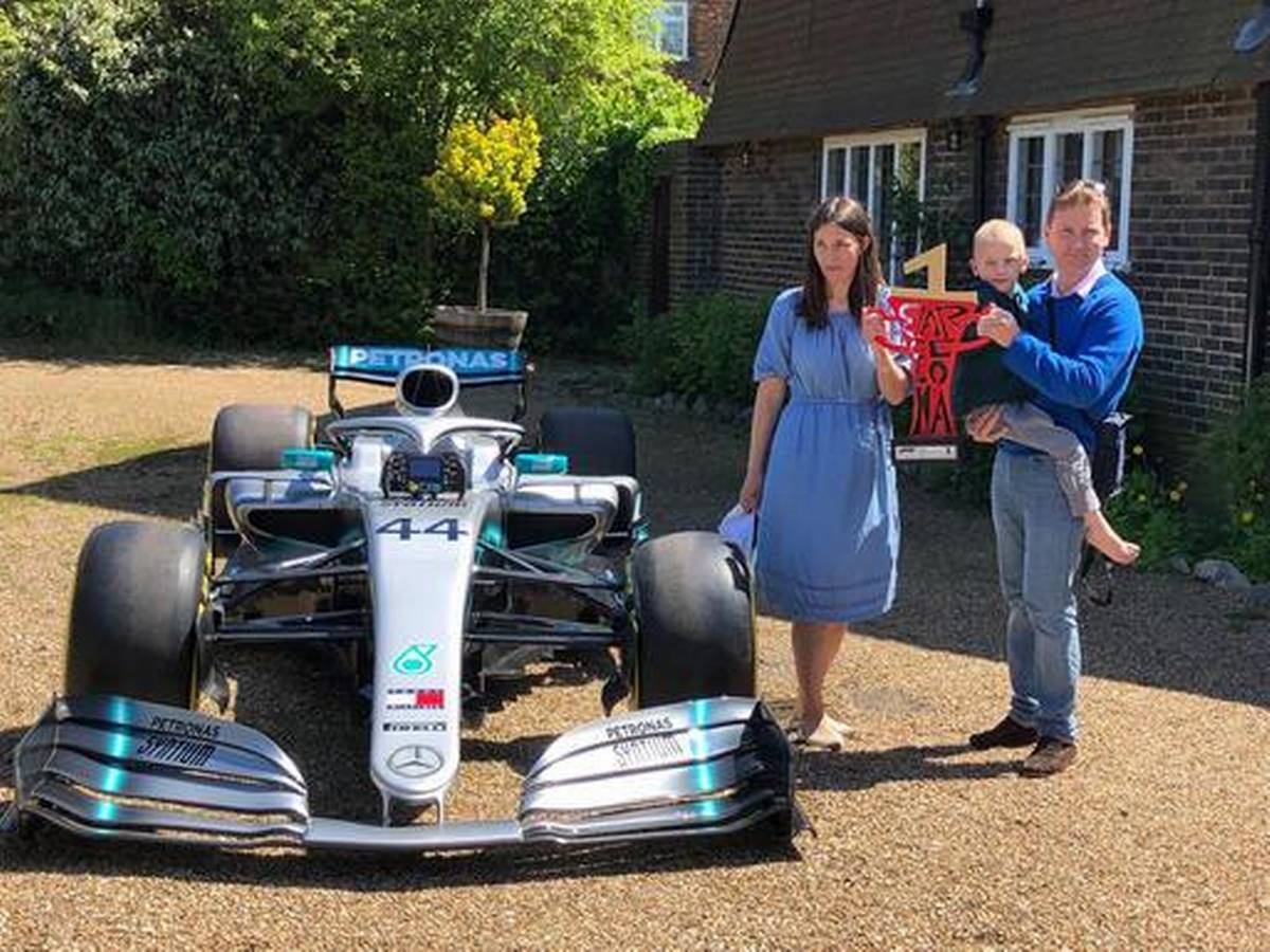 Mercedes Send Lewis Hamilton
