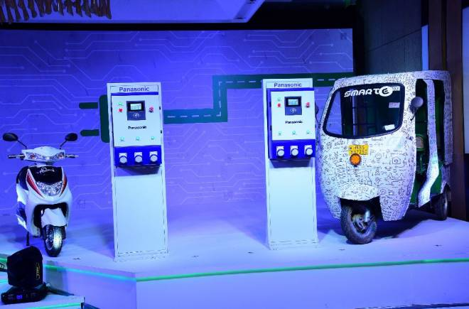 Panasonic launches electric vehicle charging service in Delhi-NCR
