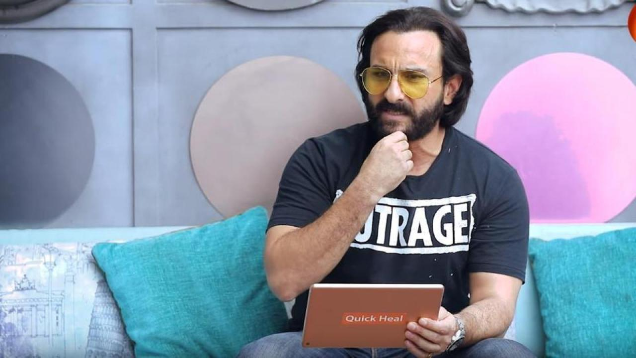 Saif Ali Khan says he's on social media, provides clues about his secret identity