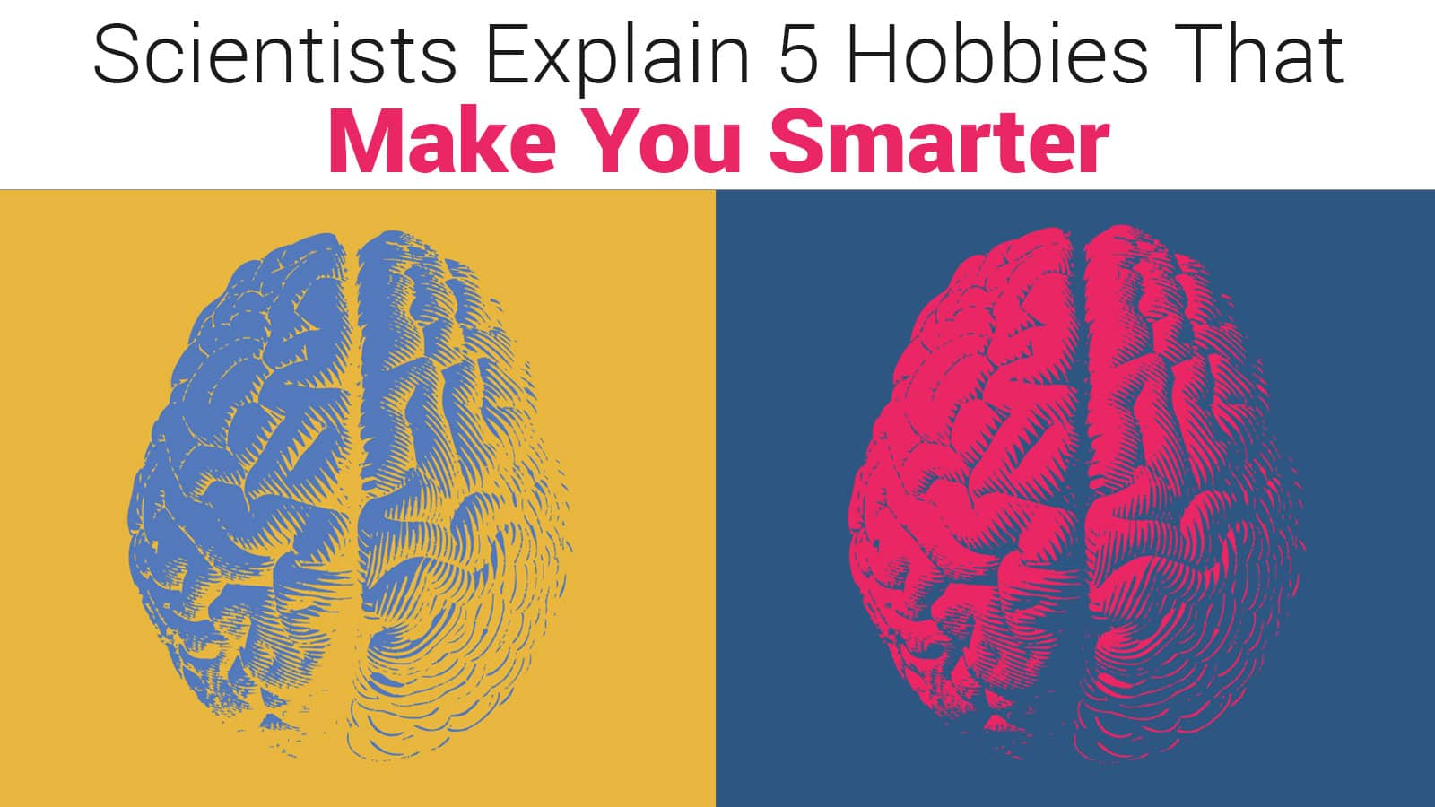 Scientists Explain 5 Hobbies That Make You Smarter